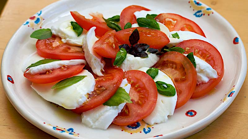 Fresh Mozzarella Caprese